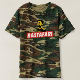Camiseta Rastafari - Jah Army Haile Selassie Love Shirt -
