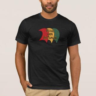 Camiseta Rastaman do leão da reggae