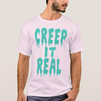 Camiseta Rastejamento ele real
