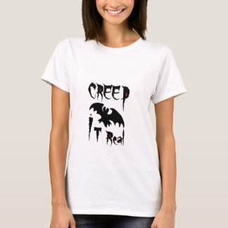 Camiseta Rastejamento ele t-shirt real