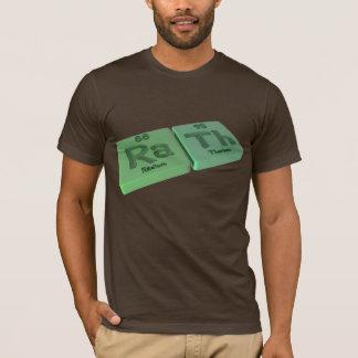 Camiseta Rath como o rádio do Ra e o tório do Th