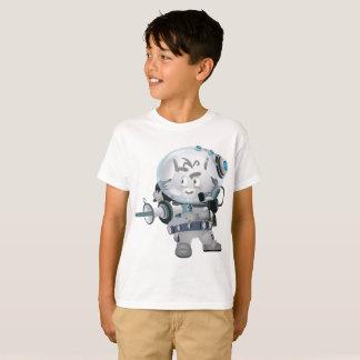 Camiseta Rato da galáxia do guerreiro do t-shirt do Hanes
