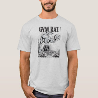 Camiseta Rato do Gym (homem)