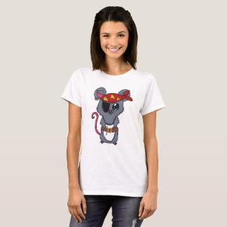 Camiseta Rato do pirata