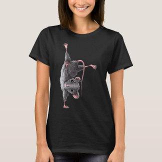 Camiseta Rato engraçado - o cair afrouxa