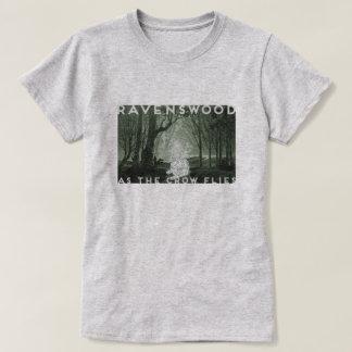 Camiseta Ravenswood, West Virginia | em linha recta