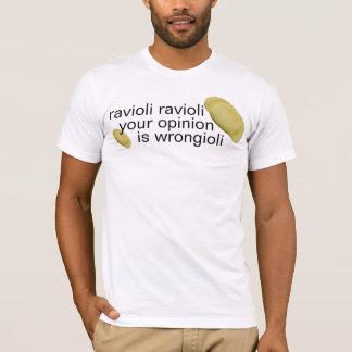 Camiseta ravioli do ravioli