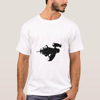 Camiseta Raygun preto