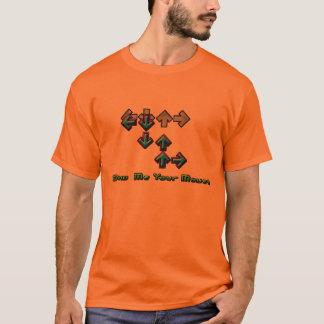Camiseta RDA alaranjada