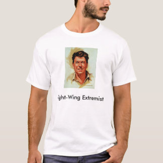 Camiseta Reagan, extremista do direita