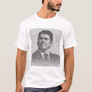 Camiseta Reagan - rasgue para baixo esta parede