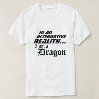 Camiseta Realidade alternativa mim dragão