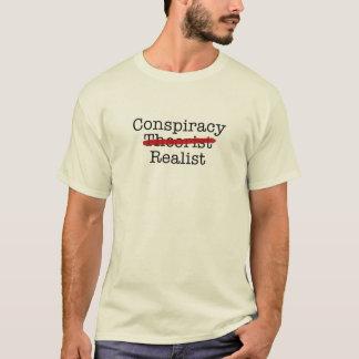 Camiseta Realista da conspiração