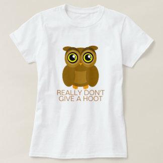 Camiseta Realmente não dê uma buzina