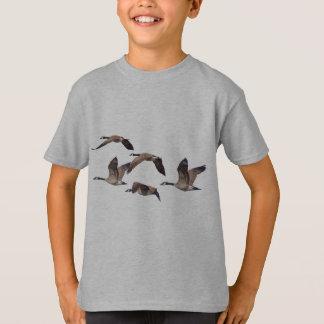 Camiseta Rebanho de gansos selvagens