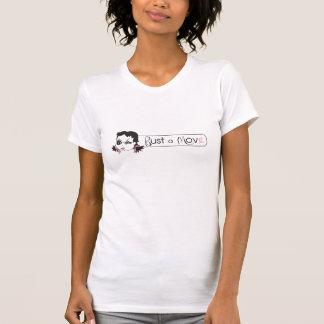 Camiseta Rebente um T do Raglan do movimento
