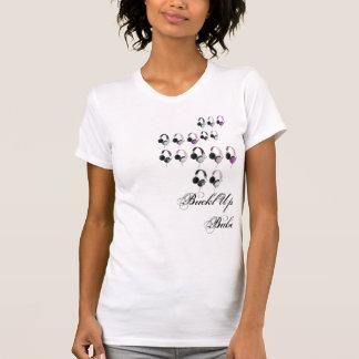 Camiseta Rebobinação Girlie do auscultadores