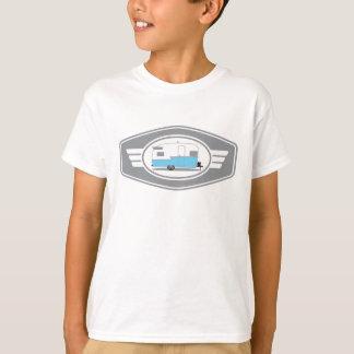 Camiseta Reboque de Shasta do vintage