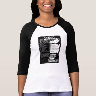 Camiseta Receita do pão de banana