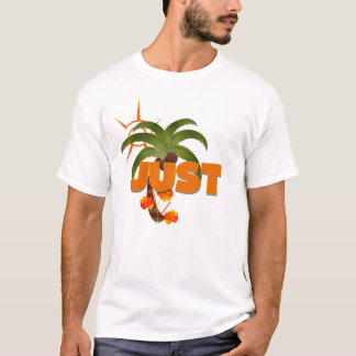 Camiseta Recem casados tropical