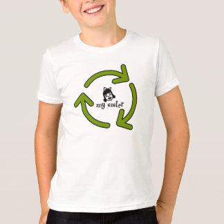 Camiseta Recicl minha irmã