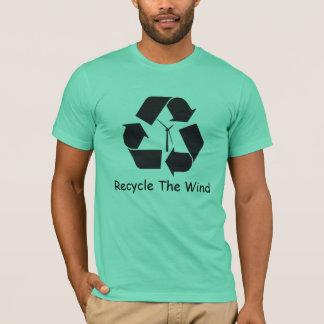 Camiseta Recicl o vento