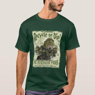 Camiseta Recicl ou morra sapos