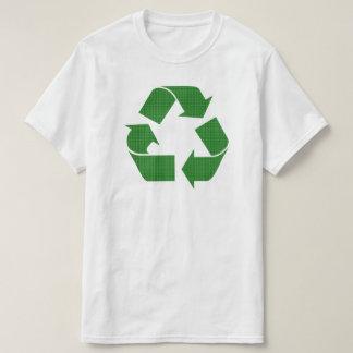 Camiseta reciclar da xadrez
