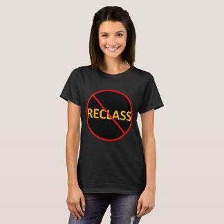 Camiseta Reclass (referência da contabilidade)