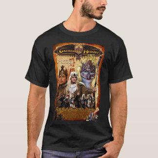 Camiseta RECOLHIMENTO do t-shirt do poster 03 dos HERÓIS