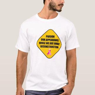 Camiseta Reconstrução da mastectomia