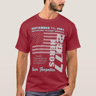 Camiseta Recordando 9/11 - O dobro tomou partido