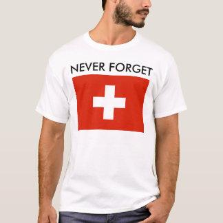 Camiseta Recordando a guerra (suiça)