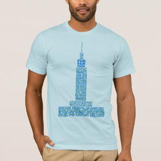 Camiseta Recordando Baton Rouge - luz - o T dos homens