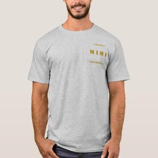 Camiseta RECORDE MIMI - Exército do XL dos homens/Twofer