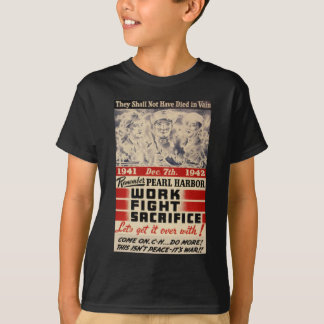 Camiseta Recorde o Pearl Harbor