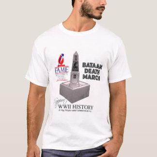 Camiseta Recorde o t-shirt de março da morte de Bataan
