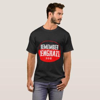 Camiseta Recorde o Tshirt de Benghazi 9-11-12
