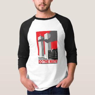 """Camiseta Recorde que 9-11 """"fazem a matemática """""""