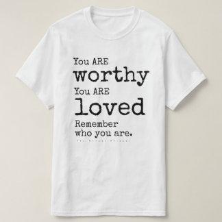 Camiseta Recorde quem você ESTÁ