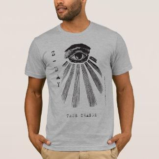 Camiseta Rectifique a mudança - Z-Dia do zeitgeist