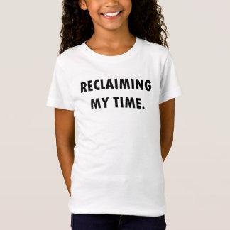 Camiseta RECUPERANDO MEU t-shirt do TEMPO