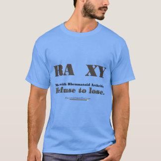Camiseta Recusa para perder o t-shirt da artrite reumatóide