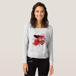 Camiseta red love