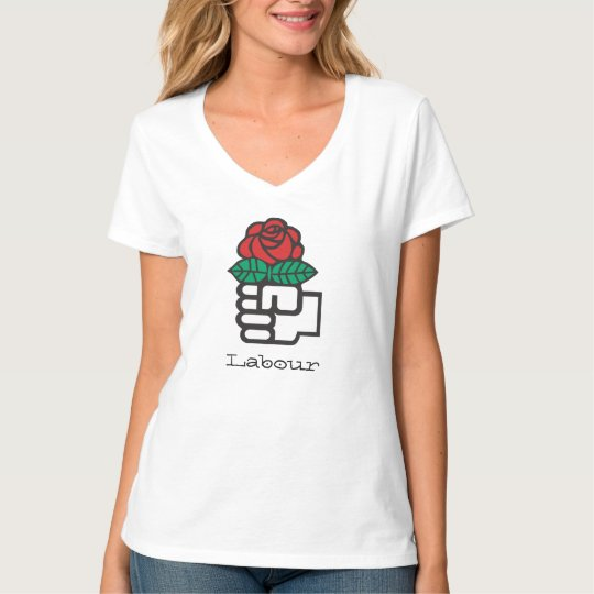 Camiseta Red Rose (Labour)