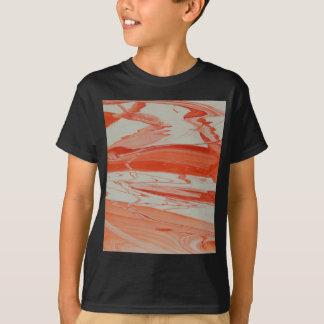 Camiseta Redemoinho alaranjado