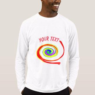 Camiseta Redemoinho colorido