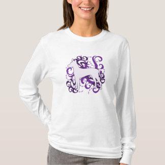 Camiseta Redemoinho roxo Xoloitzcuintli