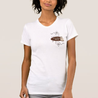 Camiseta Redemoinhos modernos feitos sob encomenda da
