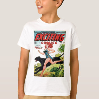 Camiseta Redhead e sua pantera